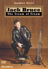Jack Bruce The Cream of Cream Instructional Bass  DVD NEW 000320596