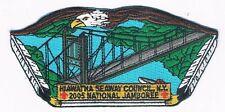 JSP Jamboree National 2005 Hiawatha Seaway Council, NY BRN/GRY Brd 400369