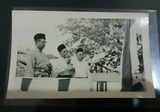 1960s Federation of Malaya Prime Minister Tunku Abdul Rahman Putra Photo 东姑阿都拉曼