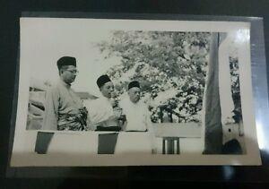 1960s Federation of Malaya Prime Minister Tunku Abdul Rahman Putra Photo 东姑阿都拉曼