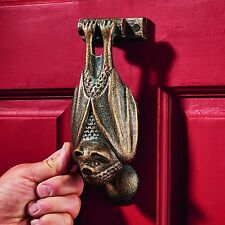 Sp2855 - Vampire Bat Foundry Cast Iron Door Knocker
