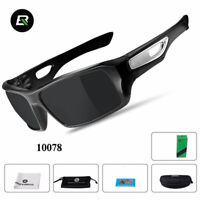 RockBros Polarized  Full Frame Cycling GF352 Glasses Bike Goggles Black Gray