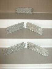 Timpo walls 5  in grey these fit together they are about 80 mm long v/g cond