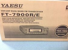 Yaesu FT7900E Twinbander VHF/UHF mobile  - BRAND NEW 144/430MHz FM plus wide rx