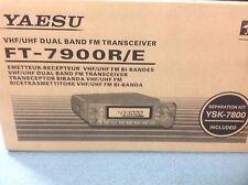 YAESU FT7900E twinbander VHF/UHF Mobile-Brand New 144/430MHz FM plus large RX