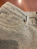 G by Guess Grey Knit Pants Stretch Size Large Girls