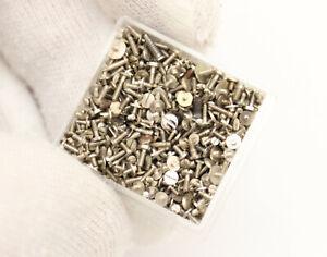 Big lot +1000 Vintage Watch & Pocket Watch Screws Watchmakers Watch Parts