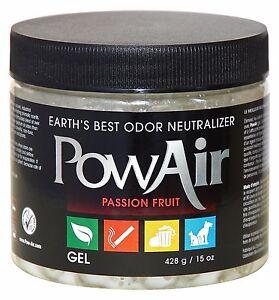 Geruchsneutralisierends Pow Air Gel gegen Haustiergerüche Haushalt Auto Nikotin