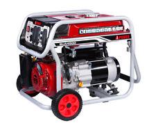 A-iPower 4500 Watt Gas Powered Generator W/ Portable Wheel kit 11 Hr Run Time