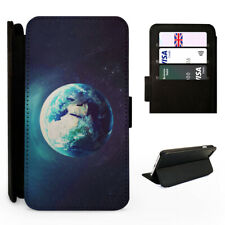 Earth from Space Planet - Flip Phone Case Cover - Fits Iphone / Samsung