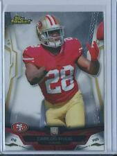2014 Topps Finest Carlos Hyde Rookie!! #103 (49ers)!! Look!! Hot!!