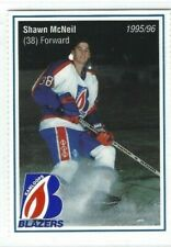 New listing 1995-96 Kamloops Blazers (WHL) Shawn McNeil