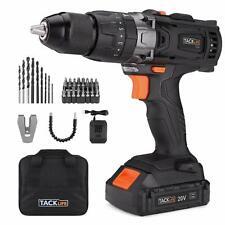 Cordless Drill, TACKLIFE 20V Electric Drill 1/2
