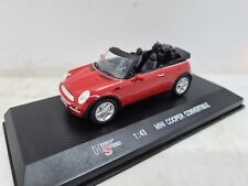 High Speed Mini Cooper Convertible Red 1:43