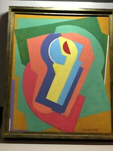 School of Paris, Albert Gleizes, Cubist Composition, signed or insc Gleizes.