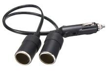 12V 18AWG 5A Heavy Duty Car Cigarette Lighter Power Dual Outlet Splitter
