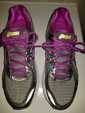 ASICS GT-2170 CHARCOAL VIOLET SILVER T256N WOMEN TRAINING RUNNING SHOES 11