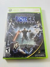 Star Wars: The Force Unleashed (Xbox 360) - Includes MANUAL, CASE, & DISC!