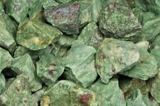 2 Pounds of Natural Ruby Zoisite Rough Stones - Cabbing, Tumble Rocks, Reiki