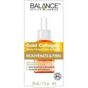 BALANCE ACTIVE FORMULA Gold Collagen Rejuvenating Serum 30ml