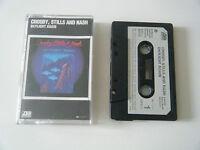 CROSBY, STILLS & NASH DAYLIGHT AGAIN CASSETTE TAPE 1982 PAPER LABEL ATLANTIC WEA