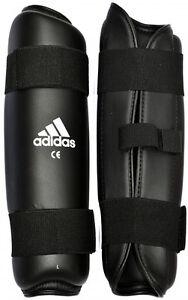 adidas Karate Shin Guard Black Martial Arts Protector