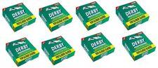 800 Derby Professional Single Edge Razor Blades - 8 Packs