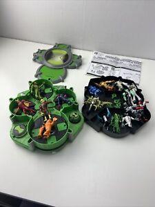 ben 10 alien creation chamber + loads of figures