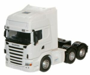 Oxford Diecast White Scania Cab - Various Liveries To Choose