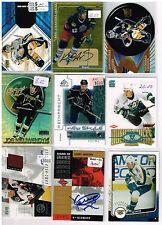 HUGE Lot Of 2000-01 Autos - Game Used - Rookies - Parallels - Inserts - Base