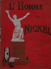 RARE EO CARTONNAGE POLYCHROME G.BÉTHUYS + J.BEUZON : L'HOMME EN NICKEL
