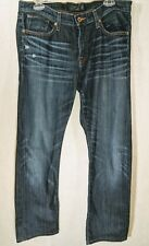 LUCKY BRAND SIENNA TOMBOY Womens Distressed Dark Wash Size 10/30 Regular
