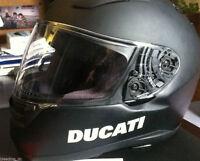 2 Pics DUCATI Helmet Motorcycle Racing MotoGP Decal Sticker