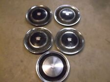 1975 to 1980 Cadillac Deville Fleetwood hubcap wheel covers LOT of 5