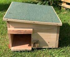 More details for  hedgehog house hibernation box nest box solid wood