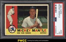 1960 Topps Mickey Mantle #350 PSA 3 VG (PWCC)