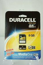 Duracell SDHC Flash Memory Card 8GB Corel MediaOne DU-SD-08GCM-C