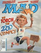 2000 (Oct.)  Mad Magazine, #398 We Torch the 2000 Olympics ~ Excellent