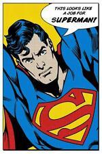 Superman: parece como un trabajo para-Maxi Poster 61cm X 91,5 Cm (nuevo Y Sellado)
