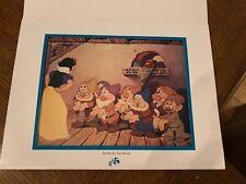 Disney Store Commemorative Lithograph Snow White 1994 - 25 Year anniversary!