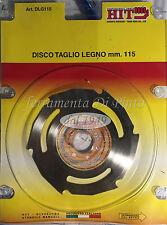 DISCO TAGLIO LEGNO PER SMERIGLIATRICE ANGOLARE MM 115