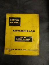 Caterpillar Motor Grader Service Manual