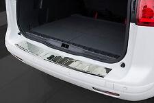 Edelstahl Ladekantenschutz mit Abkantung für Peugeot 5008 2009-17