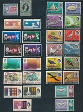 Pitcairn Islands **50  DIFF (1958-68)** 13 COMPL SETS & MORE; MNH & MLH CV $100+