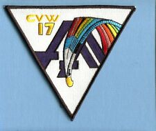 CVW-17 CARRIER AIR WING 17 US Navy Aircraft Carrier Ship Squadron Jacket Patch