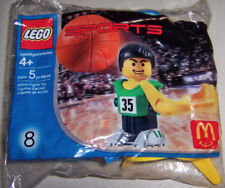 2004 McDonalds Happy Meal: LEGO SPORTS #8: BASKETBALL PLAYER - New, Sealed!