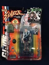 GI Joe Cryo-Freeze Sgt Savage Hasbro 1994