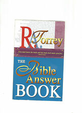 The Bible Answer Book by R. A. Torrey (1999, Paperback)