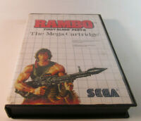 Rambo: First Blood Part 2 II (Sega Master, 1986) System Fun SMS Game Nice Shape