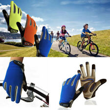 Full Fingers Gloves Kids Junior Bike Cycling Riding Skating Silicone Grip US